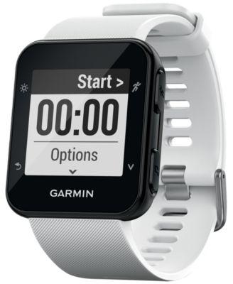 Unisex Forerunner® 35 White Silicone Strap Smart Watch 41mm