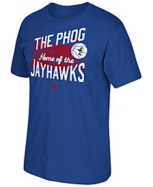 adidas Men's Kansas Jayhawks Stadium Tri Blend T-Shirt