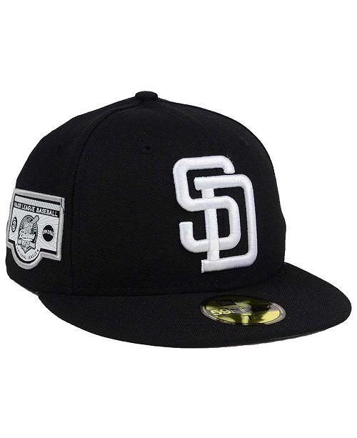 New Era San Diego Padres Banner Patch 2 0 59fifty Cap Reviews Sports Fan Shop By Lids Men Macy S