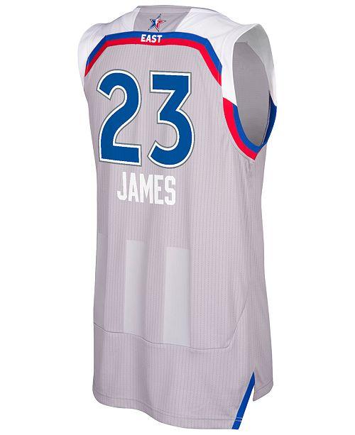 buy online c2cbc 3dd6a adidas Men's LeBron James 2017 NBA All-Star Game Swingman ...