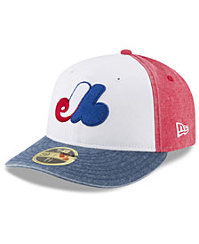 Hats   Caps Montreal Expos Sports Jerseys and Fan Gear for Men - Macy s e6e084b0ee89