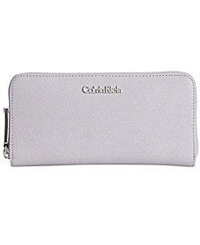 Calvin Klein Saffiano Zip Around Wallet