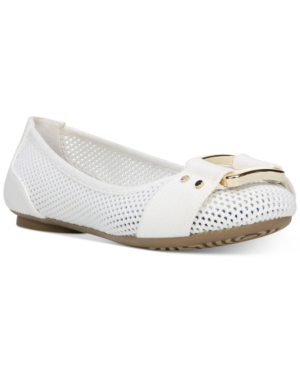 UPC 727684320674 product image for Dr. Scholl's Frankie Mesh Buckle Flats Women's Shoes | upcitemdb.com