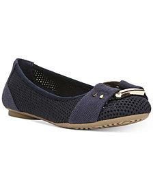 Dr. Scholl's Frankie Mesh Buckle Flats