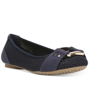 UPC 727684320827 product image for Dr. Scholl's Frankie Mesh Buckle Flats Women's Shoes | upcitemdb.com