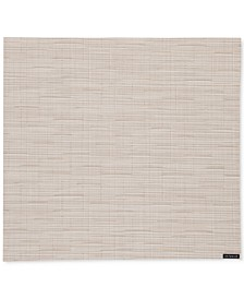 Table Linens, Bamboo Woven Vinyl Squared Placemat