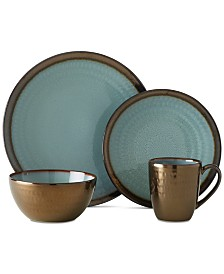 Gourmet Basics by Mikasa  Anastasia 16-Piece Dinnerware Set
