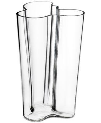Iittala Aalto Vase Bowl Collection Bowls Vases Macys