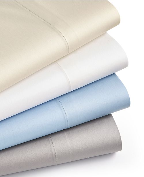 Martha Stewart Collection LAST ACT! Allergy Sleep System 3-Pc Twin Sheet Set, 350 Thread Count 100% Cotton, AAFA Certified, Created for Macy's