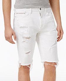 "Calvin Klein Jeans Men's Cutoff Jean 10.5"" Stretch Shorts"
