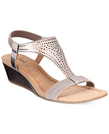Alfani Women's Step 'N Flex Vacanzaa Wedge Sandals, Created for Macy's