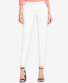 Vince Camuto Straight-Leg Ankle Trousers