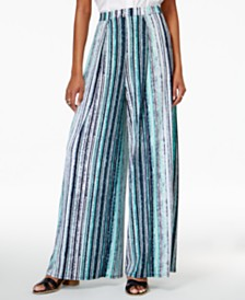 Wide Leg Pants: Shop Wide Leg Pants - Macy's