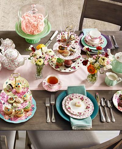 SHOP THE LOOK: Mix & Match Floral Tablescape