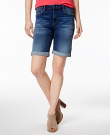 Tommy Hilfiger Cuffed Bermuda Shorts