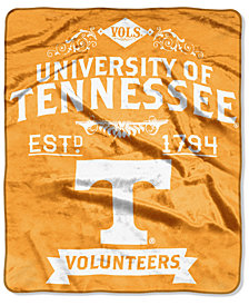 Northwest Company Tennessee Volunteers Raschel Rebel Throw Blanket