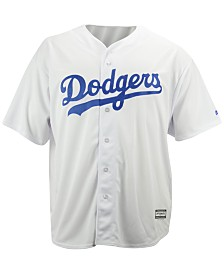 Majestic MLB Men's Big & Tall Shirt, Los Angeles Dodgers Authentic Collection Jersey