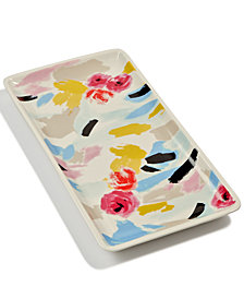 Kate Spade New York Paintball Floral Bath Tray
