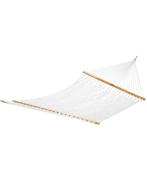 The Hammock Source Presidential Size Original Polyester Rope Hammock, Quick Ship