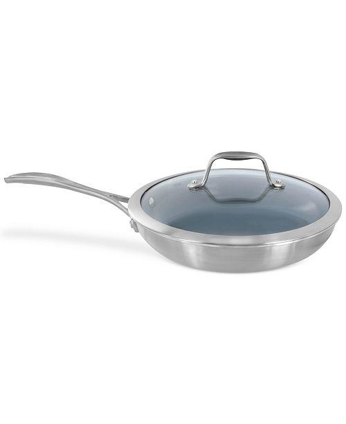 "J.A. Henckels Zwilling Spirit Ceramic Nonstick 9.5"" Covered Fry Pan"