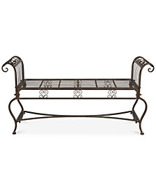 Nyland Outdoor Bench, Quick Ship
