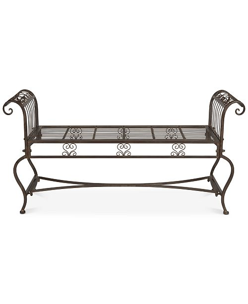 Safavieh Nyland Outdoor Bench, Quick Ship