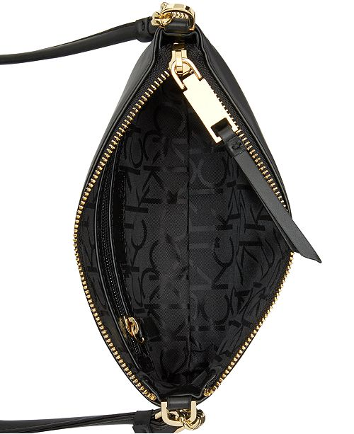 dd58642ec Calvin Klein Hayden Signature Chain Strap Crossbody & Reviews ...