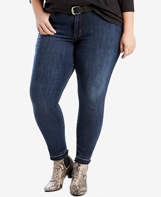 Levi's® Plus Size 711 Ankle Skinny Jeans - Jeans - Plus Sizes - Macy's