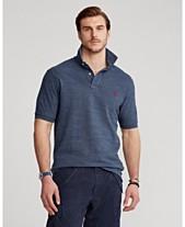 Polo Ralph Lauren Men s Big   Tall Classic-Fit Cotton Mesh Polo c1e54718e1a