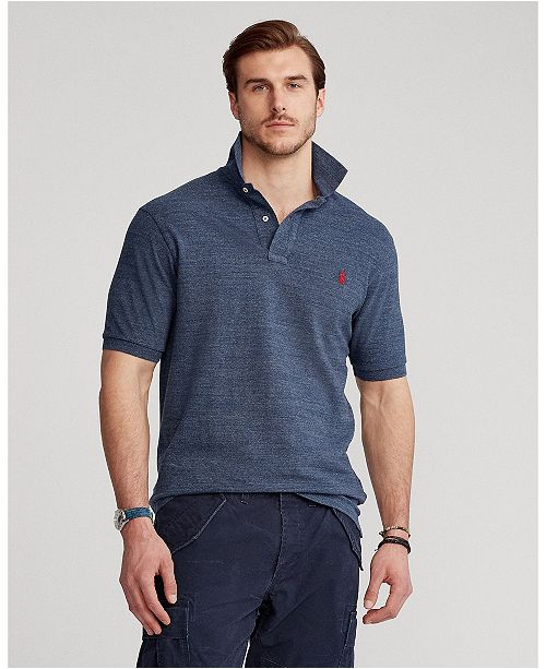 Mesh Tall Men's Cotton Polo Bigamp; Fit Classic CxBedo
