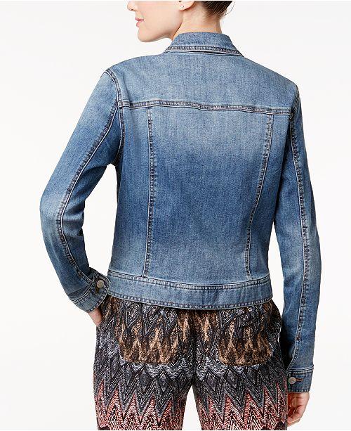 4073ff62e99 Celebrity Pink Juniors  Classic Denim Jacket   Reviews - Jackets ...