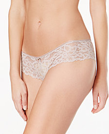 b.tempt'd by Wacoal b. Charming Floral-Lace Tanga 945232