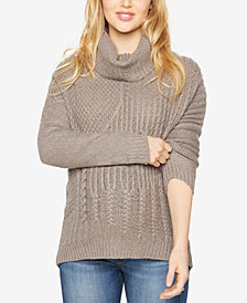 Splendid Maternity Cowl-Neck Sweater