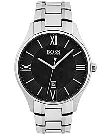 BOSS Hugo Boss Men's Governor Stainless Steel Bracelet Watch 44mm 1513488