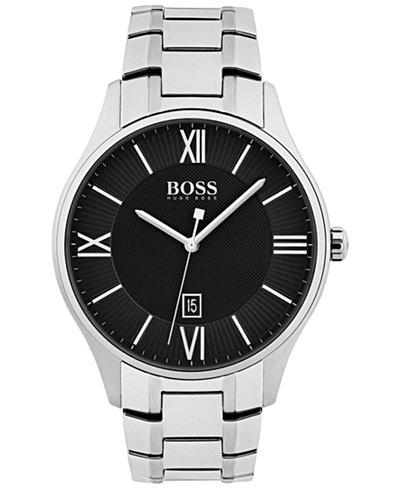 BOSS Hugo Boss Men's Governor Stainless Steel Bracelet Watch 44mm 1513488