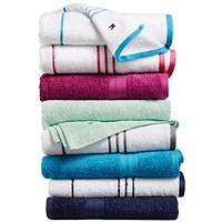 Tommy Hilfiger Home All American II Cotton Stripe Bath Towel