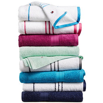 Tommy Hilfiger All American II Bath Towel Collection