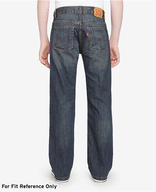 5ad8f433 Levi's 505™ Regular Fit Jeans, Big Boys & Reviews - Jeans - Kids ...