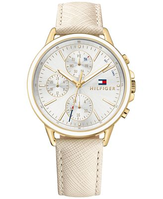 Tommy Hilfiger Women's Sophisticated Sport Nude Saffiano ...