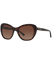 Coach Polarized Sunglasses, HC8204
