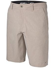 """O'Neill Men's Loaded 21"""" Heather Hybrid  Shorts"""