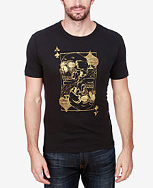 Lucky Brand Men's Ace Skulls Graphic-Print Cotton T-Shirt