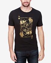 d10b8768 Lucky Brand Men's Ace Skulls Graphic-Print Cotton T-Shirt