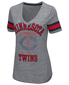 G-III Sports Women's Minnesota Twins Triple Play T-Shirt