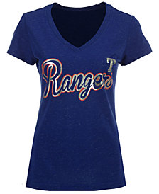 G-III Sports Women's Texas Rangers Breakaway T-Shirt