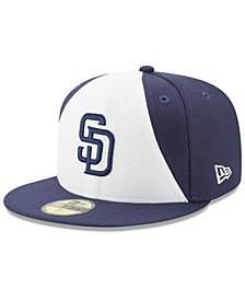 New Era San Diego Padres Batting Practice Diamond Era 59FIFTY Cap