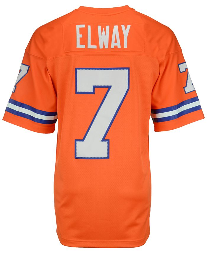 Men's John Elway Denver Broncos Replica Throwback Jersey