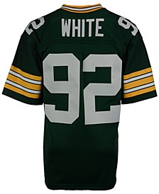 Men's Reggie White Green Bay Packers Replica Throwback Jersey