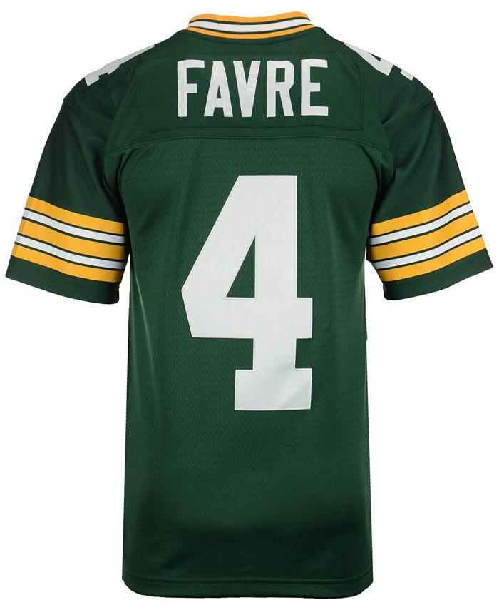 Mitchell & Ness Men's Brett Favre Green Bay Packers Replica ...