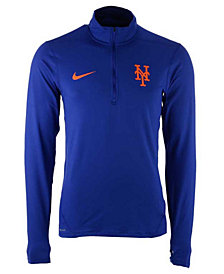 Nike Men's New York Mets Dry Element Half-Zip Dri-FIT Pullover